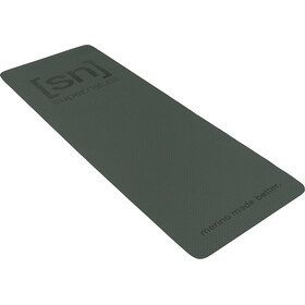 super.natural Yoga Matte dark green